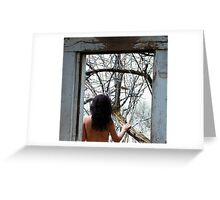 WINDOW TO NATURE Greeting Card