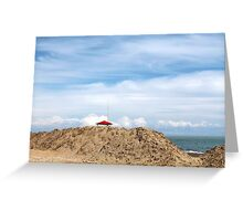 sea and beach Greeting Card