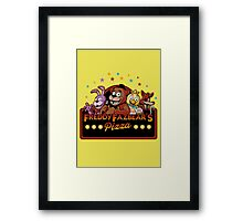 freddy pizza Framed Print