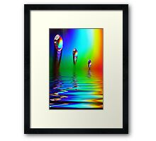 Reflections And Light Framed Print