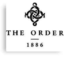 The Order 1886. - 2 Canvas Print