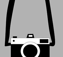 Black and White Camera  by biancatrinidad