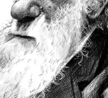 Darwiniac - Charles Darwin Sticker