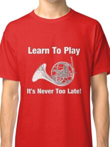 Learn To Play English horn Classic T-Shirt