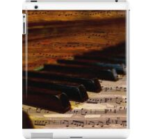 Piano and music iPad Case/Skin