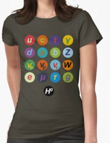 Standard Model Warhol 1 Womens Fitted T-Shirt