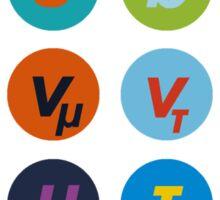 Standard Model Warhol 1 Sticker