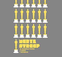 Meryl Streep's Oscar Nominations by jenniferlothian
