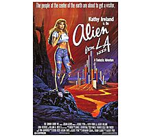 ALIEN FROM L.A. B MOVIE Photographic Print