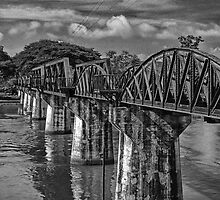 Bridge over River Kwai, Thailand by Kelly McGill