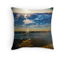 2  minds Throw Pillow