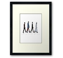 Horror Beatles Framed Print