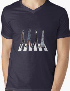 Horror Beatles Mens V-Neck T-Shirt