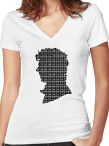 Elementary...2 Women's Fitted V-Neck T-Shirt