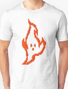 Pixel Fire Guy T-Shirt