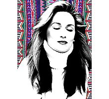 Meryl Streep is more hip than you. Photographic Print