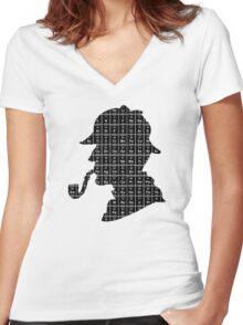 Elementary... Women's Fitted V-Neck T-Shirt