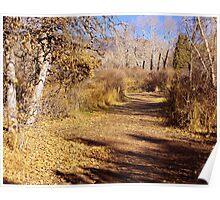 An Autumn Stroll Poster