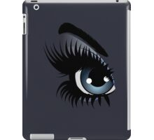 Eyes with make up iPad Case/Skin