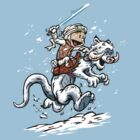 Calvin and Hoth by DJKopet