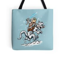 Calvin and Hoth Tote Bag