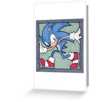 Sonic the Hedgehog 02 Greeting Card