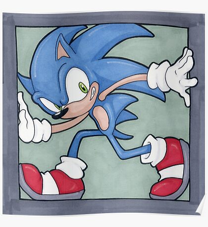 Sonic the Hedgehog 02 Poster