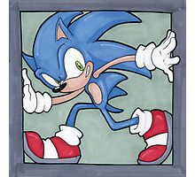 Sonic the Hedgehog 02 Photographic Print