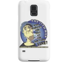 Who Throws The Ball At The One Yard Line? - The 12th Man Samsung Galaxy Case/Skin