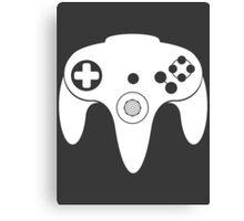 Nintendo N64 White Canvas Print