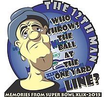 Who Throws The Ball At The One Yard Line? - The 12th Man Photographic Print