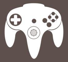 Nintendo N64 White by DawnPrince