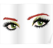 Eyes with make up 4 Poster