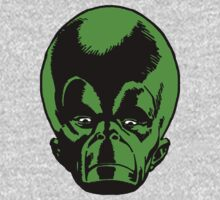Big Green Mekon Head  by PROM11
