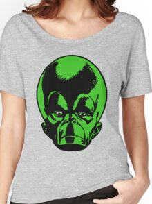 Big Green Mekon Head  Women's Relaxed Fit T-Shirt