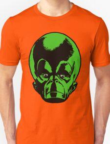 Big Green Mekon Head  T-Shirt