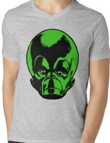 Big Green Mekon Head  Mens V-Neck T-Shirt