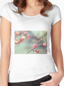 Pink Ume Women's Fitted Scoop T-Shirt