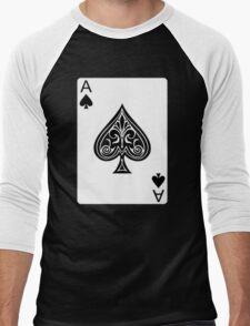 Ace of Spades Men's Baseball ¾ T-Shirt