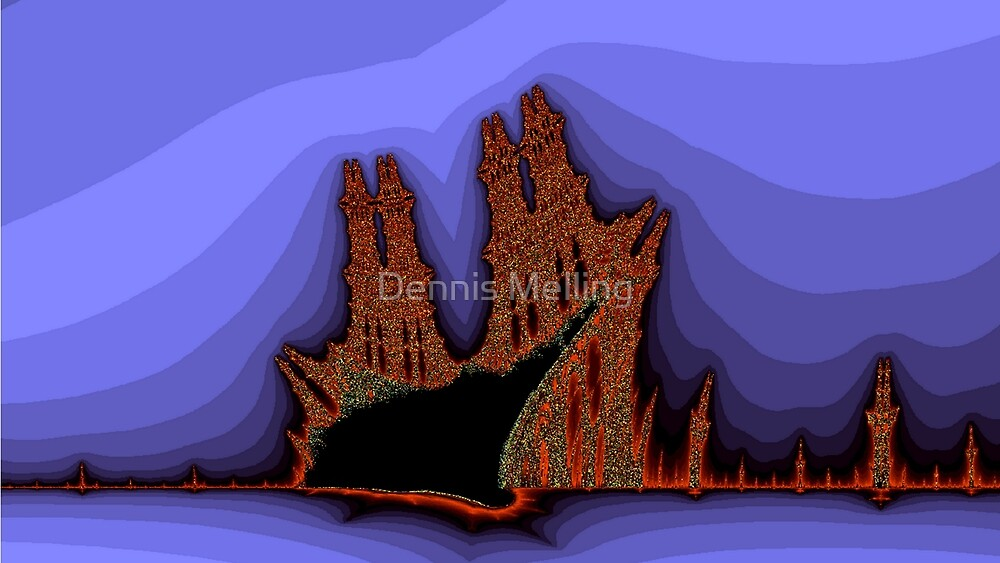 Old Castles - an abstract view by Dennis Melling