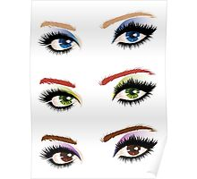 Eyes with make up 6 Poster