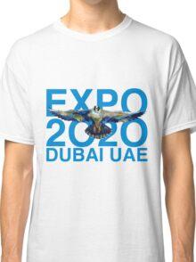 Dubai UAE Expop 2020 Earth Falcon Classic T-Shirt