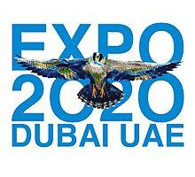 Dubai UAE Expop 2020 Earth Falcon Photographic Print