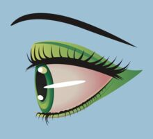 Eyes with make up 7 Kids Clothes