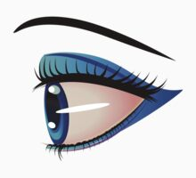 Eyes with make up 8 Baby Tee