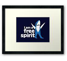 I'm a Free Spirit Framed Print