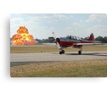 """""""Red Hot & Russian"""" (Albury Airshow, Australia 2008) Canvas Print"""