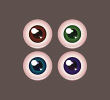 Eye Balls of Different Colors 4 Unisex T-Shirt