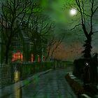 Wet Lane in Winter by Glenn Marshall