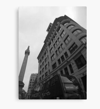 Monochrome Monument Canvas Print